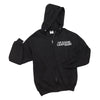 Teacher Adult Black NuBlend® Full-Zip Hooded Sweatshirt (4 different design options)