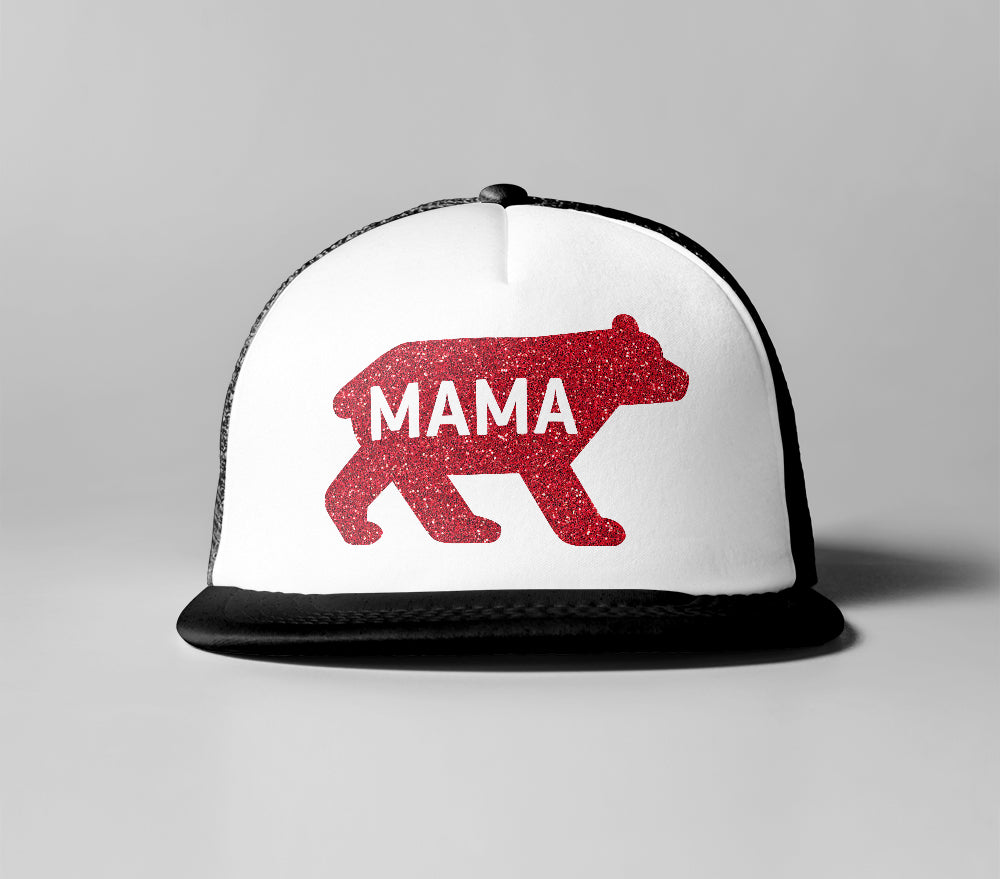 Cancer Kid Famous Mama Bear Trucker Hat