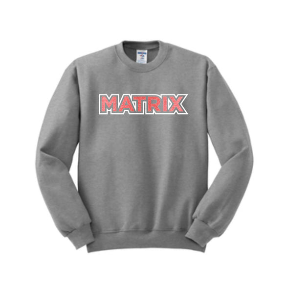 Youth Matrix Crewneck Sweatshirt