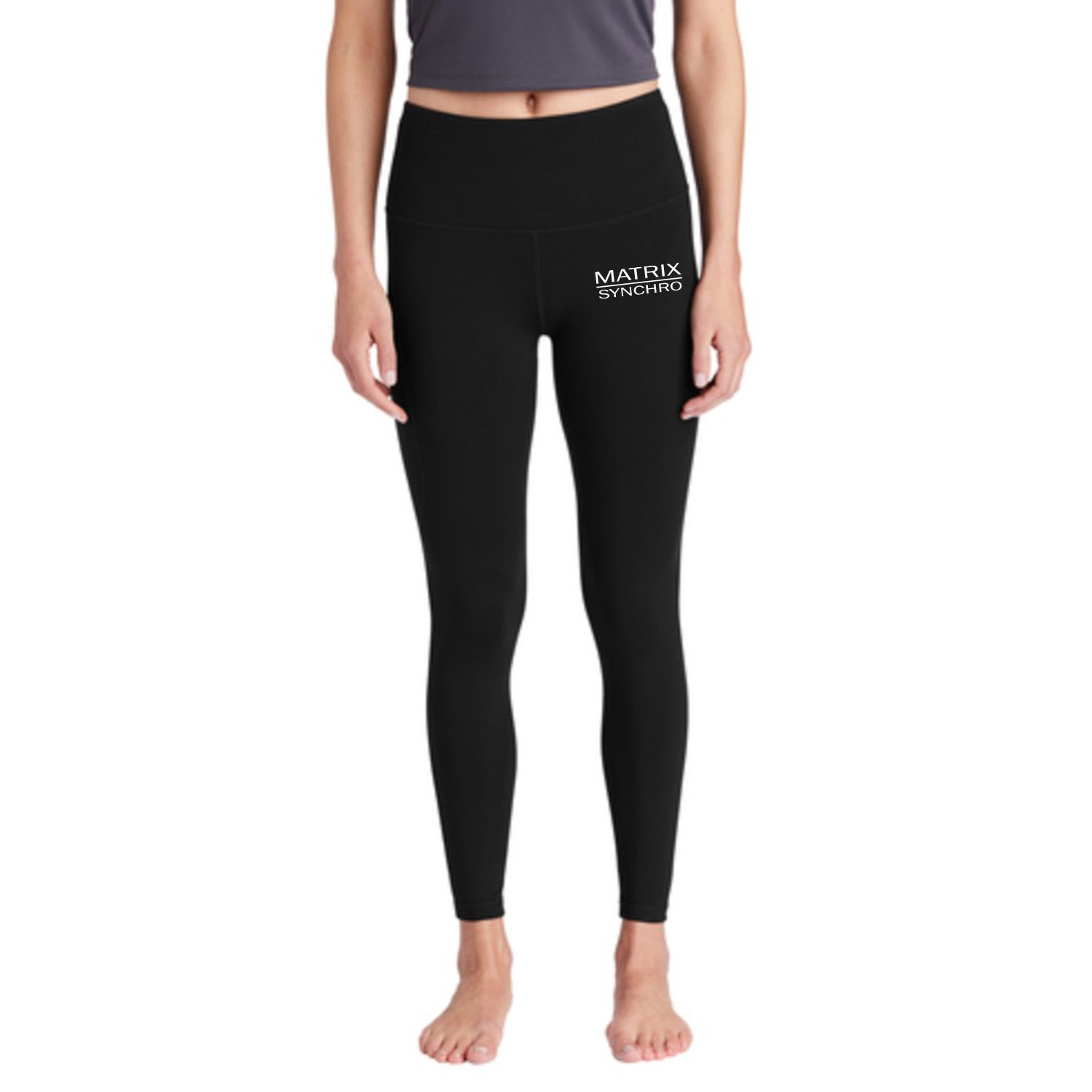 Matrix Synchro Sport-Tek ® Ladies High Rise 7/8 Legging