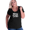 Merry and Bright Curvy Tee