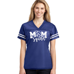 James Lee Dean Football Mom Squad Jersey. Customize your today by choosing your teams colors and your players last name. This is the ultimate team fan gear jersey!