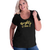 Naughty and I know it Curvy Tee