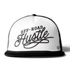 off-road hustle Premium Flat Bill Trucker Hat by off road swag
