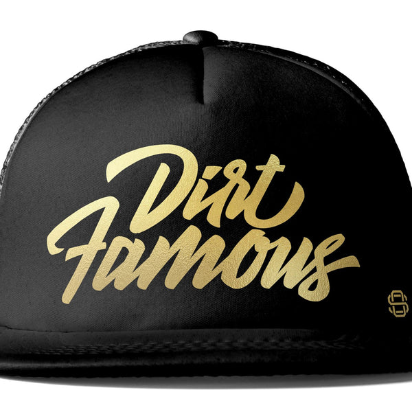 Off-Road Swagg Dirt Famous Flat Bill Trucker Hat