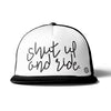 Off-Road Swagg Shut Up And Ride Premium Flat Bill Trucker Hat