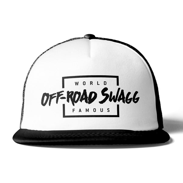 Off-Road Swagg World Famous Premium Flat Bill Trucker Hat