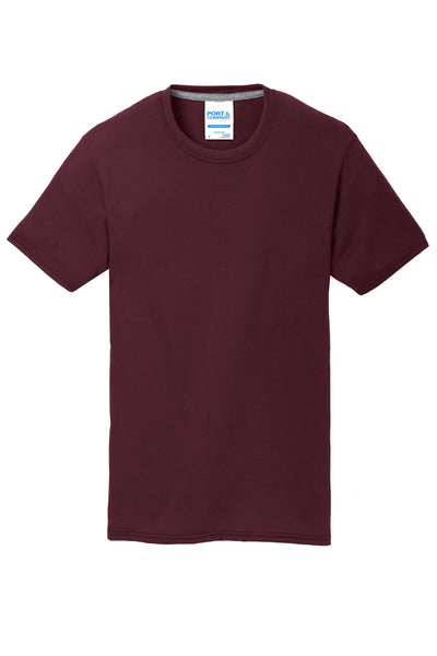 Youth Maroon Performance Blend Unisex Tee (7 different design options)