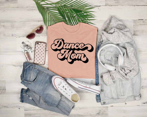 Retro Dance Mom Tee