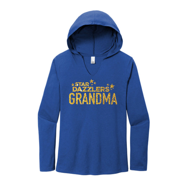 Star Dazzlers Grandma Perfect Tri ® Long Sleeve Hoodie