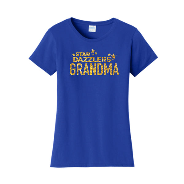Star Dazzler Grandma Ladies Fan Favorite™ Short Sleeve Tee