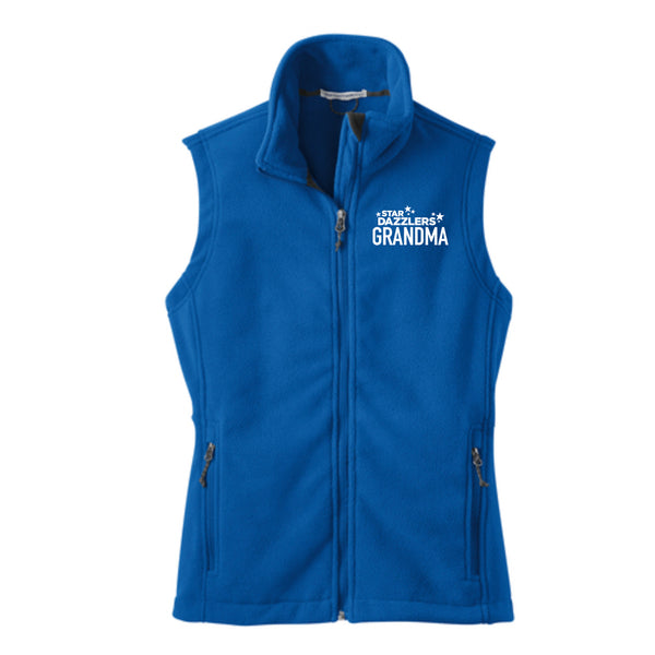 Star Dazzler Grandma Ladies Fleece Vest