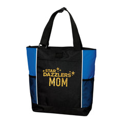 Star Dazzler Mom Zipper Tote