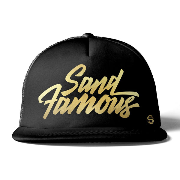 Off-Road Swag Sand Famous Premium Flat Bill Trucker Hat