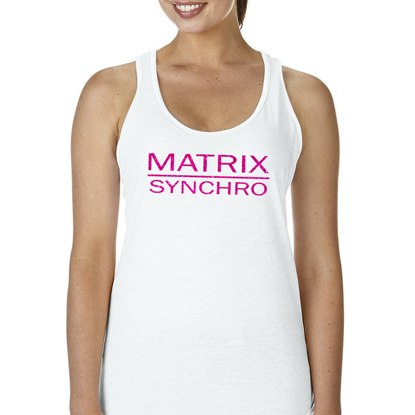 Matrix Synchro Fitted Racerback Tee