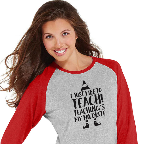 Teaching is my favorite Baseball Tee
