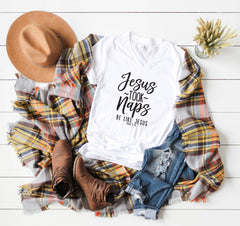 Be Like Jesus V Neck Tee