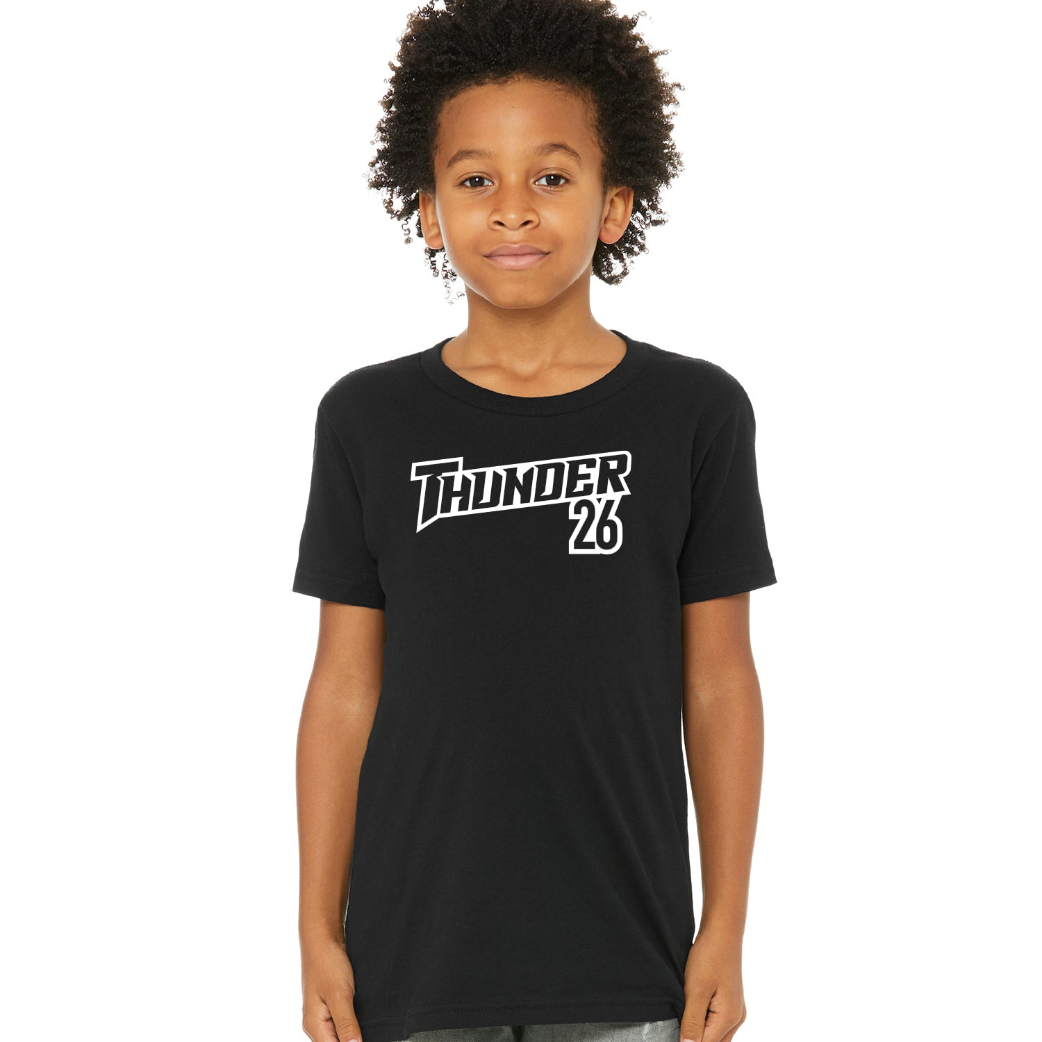 Youth Thunder Tee with players number