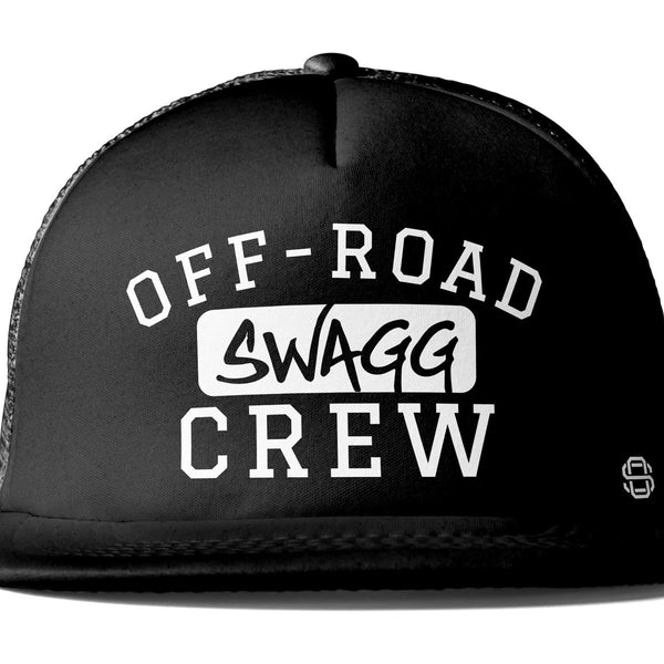 Off-Road Swagg Crew Premium Flat Bill Trucker Hat