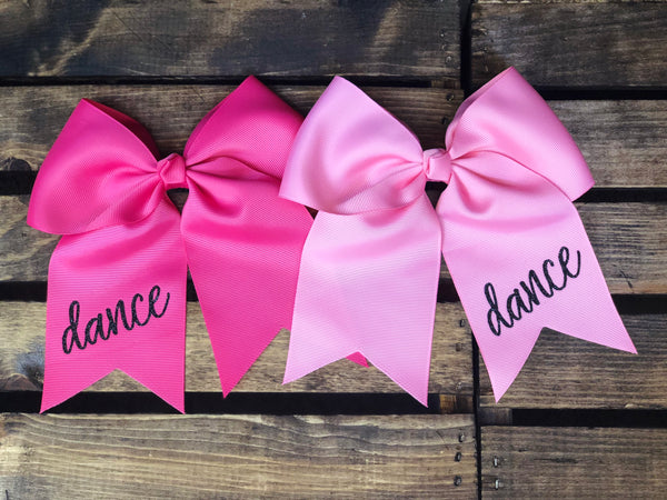 Dance Hair Bow