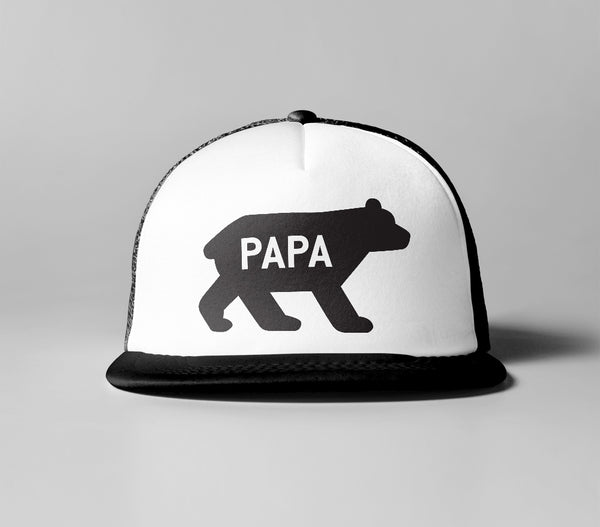 Cancer Kid Famous Papa Bear Trucker Hat