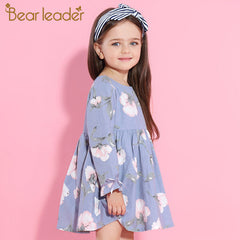 Petal Sleeve Flower Dress