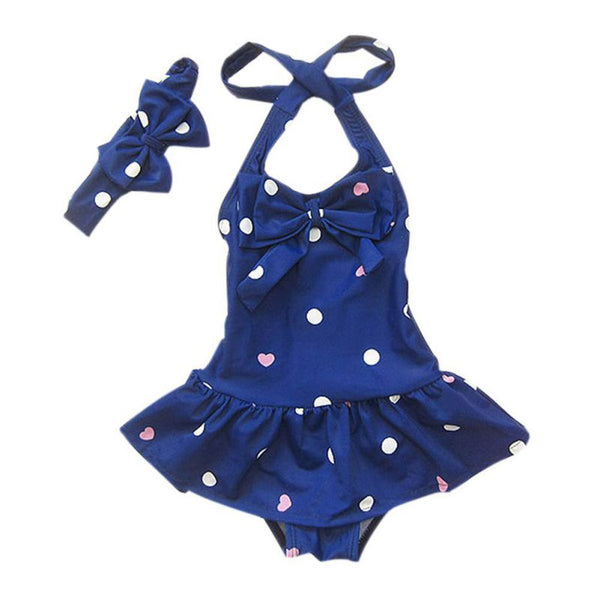 Polkadot Baby Swimsuit