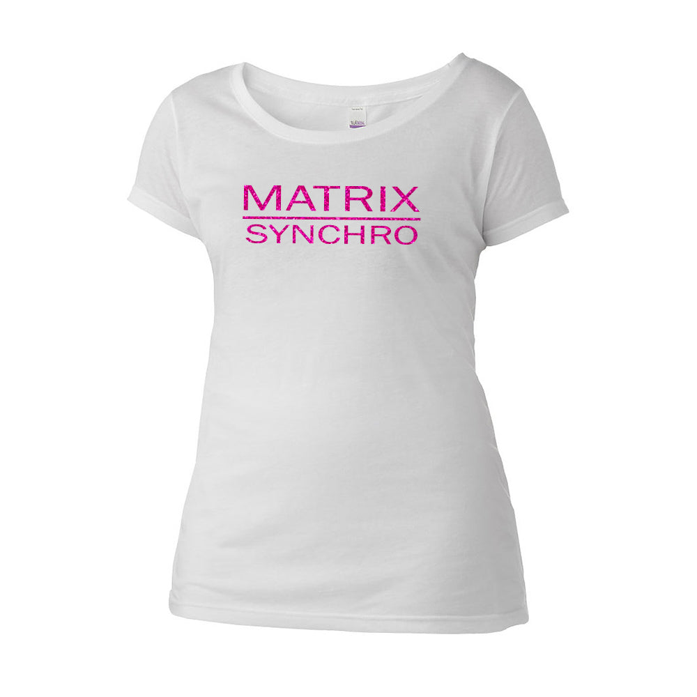 Matrix Synchro Scoop Neck Tee