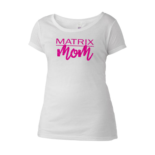 Matrix Mom Scoop Neck Tee