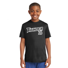 Youth Performance Number Tee