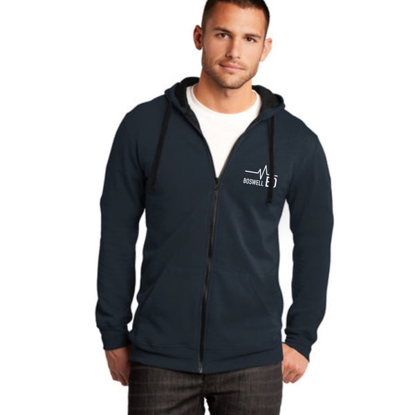 Boswell ED Nurse Flag Unisex Full Zip
