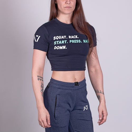 A7 Bar Grip™ Full Women's Crop Commands