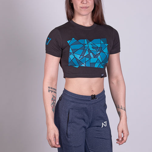 A7 Bar Grip™ Full Women's Crop Crackle