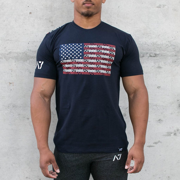 A7 Bar Grip™ Full Men's Navy Americana