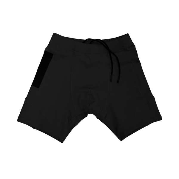 A7 OX Black Compression Shorts