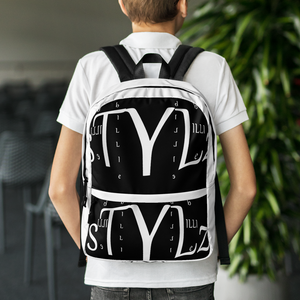 BILLIE STYLZ Logo PRINT Backpack