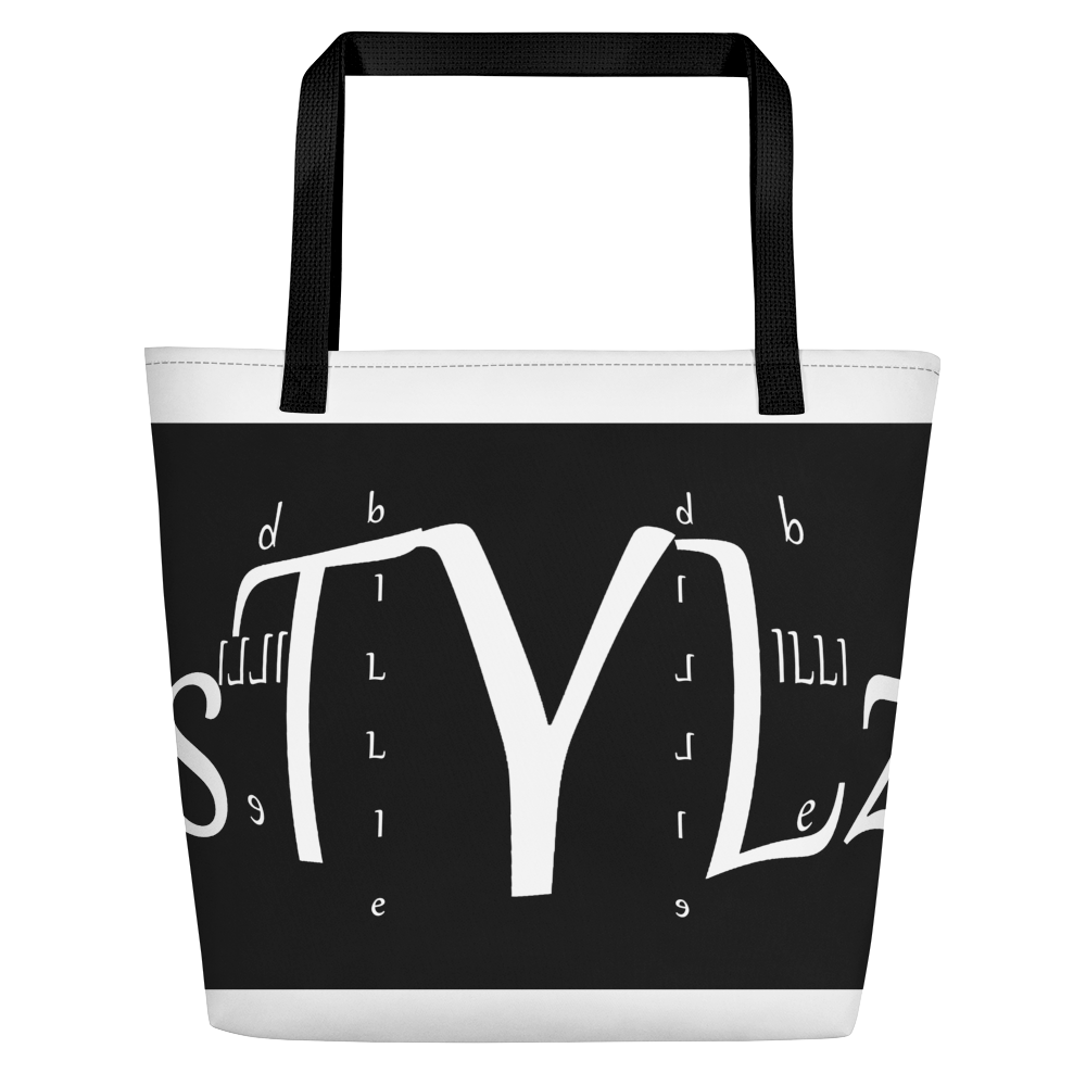 Designer BILLIE STYLZ Logo Beach Bag