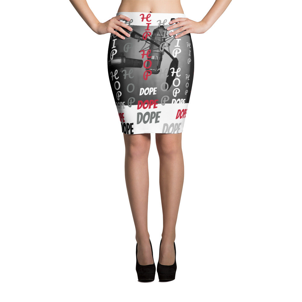 BILLIE STYLZ Hip Hop Dope Designer Pencil Skirt