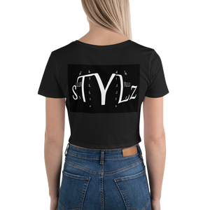 Designer Crop Tee by BILLIE STYLZ