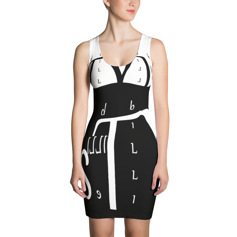 Designer BILLIE STYLZ hand Sewn Logo Dress