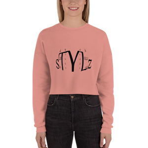 BILLIE STYLZ LOGO CROP SWEATSHIRT