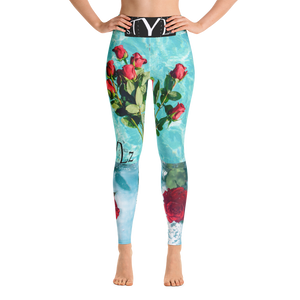 BILLIE STYLZ Cool Pool Yoga Leggings