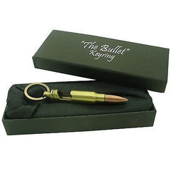 Bullet Bottle Opener Keyring (In Gift Box)