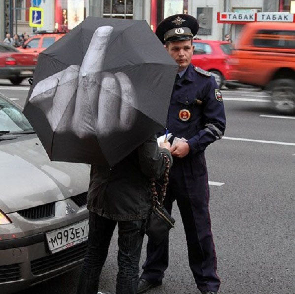 F#ck The Rain Umbrella