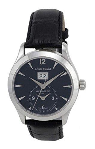 Louis Erard 82205AA12.BDC02 Automatic Black Dial Anniversary Mens Watch