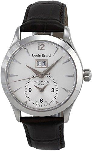 Louis Erard 82205AA11.BDC21 Automatic Silver Dial Anniversary Mens Watch