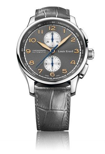Louis Erard 1931 Collection Swiss Automatic Grey Dial Men's Watch 73228AA03.BDC54