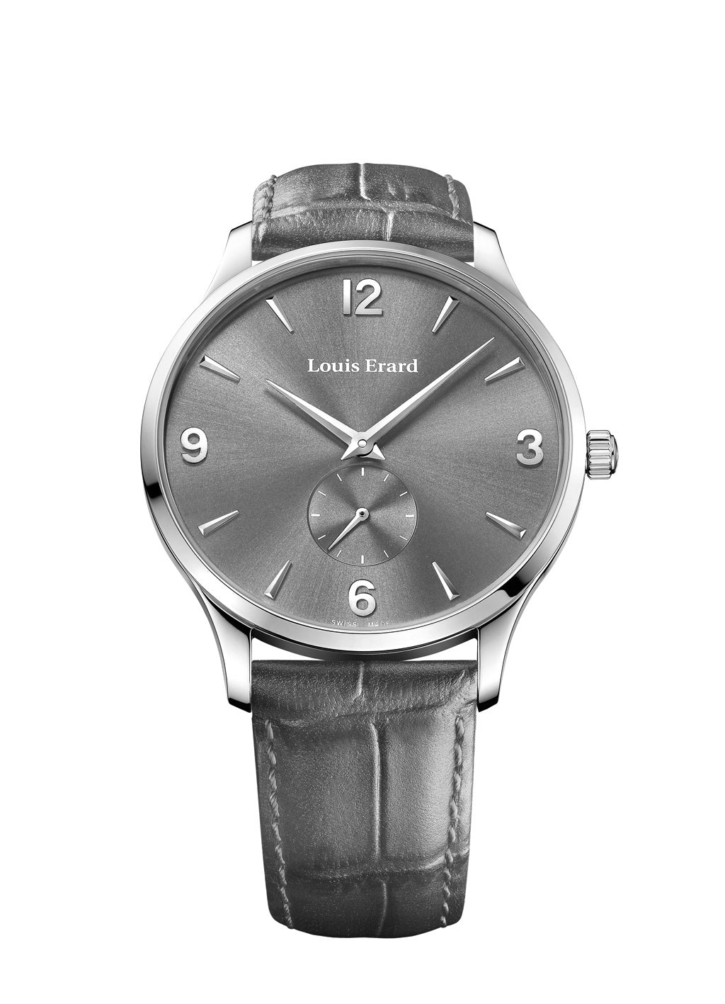Louis Erard 1931 Collection Mechanical hand winding Grey Dial Men's Watch 47217AA03.BEP02