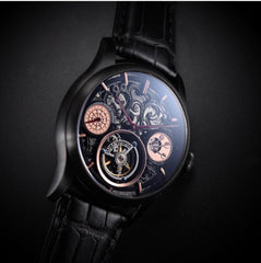 Memorigin Tourbillon 501 Series Darts  Men's Watch Oblique Macro