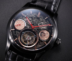 Memorigin Tourbillon 501 Series Darts  Men's Watch Flat Macro